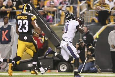 Kamar Aiken could be Ravens top target with Steve Smith out, worth a fantasy flier in Week 5