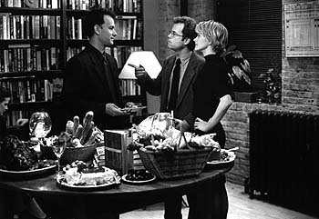 Tom Hanks , Greg Kinnear and Meg Ryan in Warner Brothers' You've Got Mail