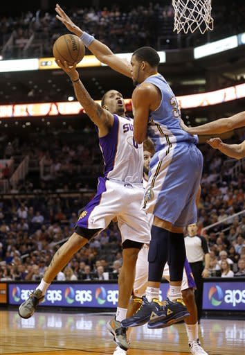 Koufos-led Nuggets beat Suns for 9th straight win