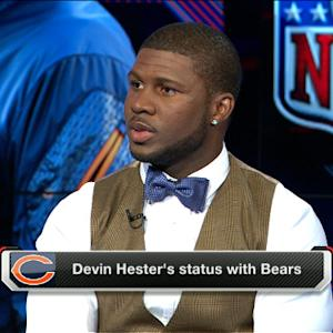 Devin Hester says goodbye to Bears