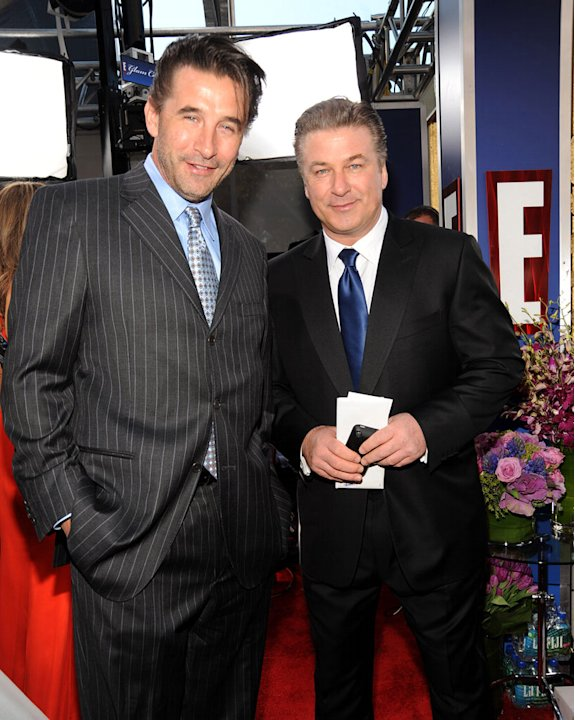 William Baldwin and Alec Baldwin arrives to the TNT/TBS broadcast of the 16th Annual Screen Actors Guild Awards held at the Shrine Auditorium on January 23, 2010 in Los Angeles, California.