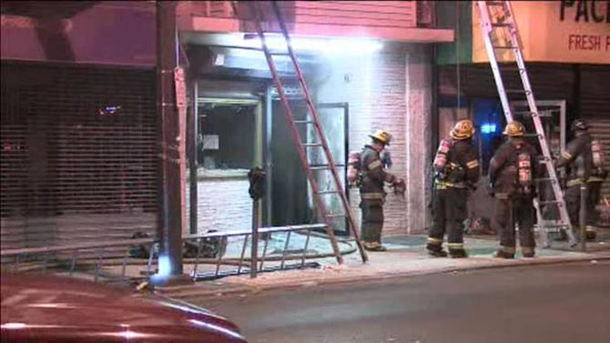 Fire damages North Philadelphia bakery