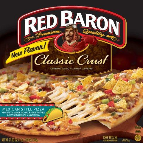 Red Baron Mexican Style Pizza is Back, With Flavorful Blend to Spice Up Mealtime