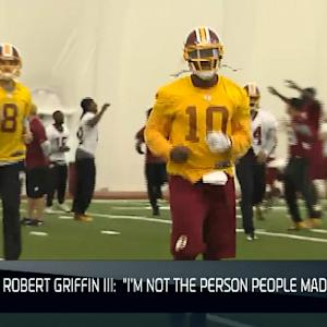 Washington Redskins pick up quarterback Robert Griffin III's 5th-year option