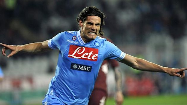 Edinson Cavani of Napoli (Reuters)