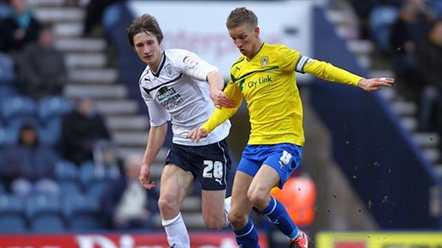 Preston have a 24-hour recall clause for Ben Davies, left, who is on loan at York