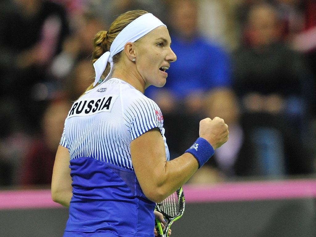 Kuznetsova opens Russia's Fed Cup tie with Germany