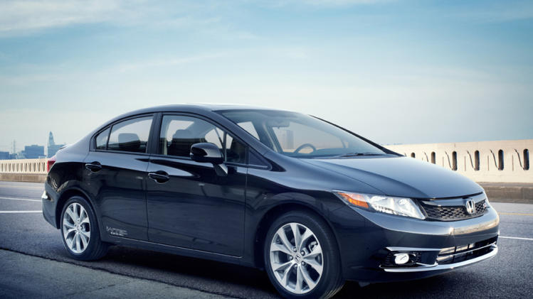FILE - This undated image made available by Honda shows the 2012 Honda Civic Si Sedan. (AP Photo/Honda)