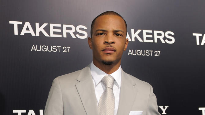 "FILE - In this Aug. 4, 2010 file photo, rapper Tip ""T.I."" Harris, a cast member in the film ""Takers,"" poses at the premiere of the film in Los Angeles. T.I. might have made strides outside of rap, but the 31-year-old said he is still passionate about recording music. His eighth album, ""Trouble Man,"" will ""tentatively"" be out in December 2012. (AP Photo/Chris Pizzello, file)"