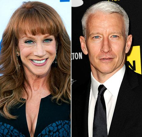 Kathy Griffin: Why I Never Outted My Pal Anderson Cooper