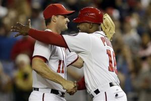 Nationals beat Dodgers to clinch postseason slot
