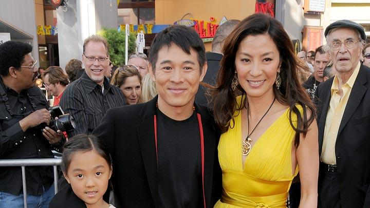 The Mummy Tomb of the Dragon Emperor Premiere 2008 Jet Li Michelle Yeoh