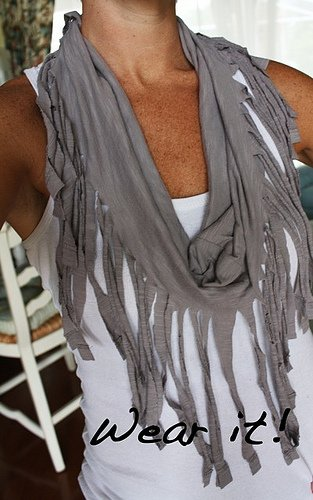 Fringe Scarf