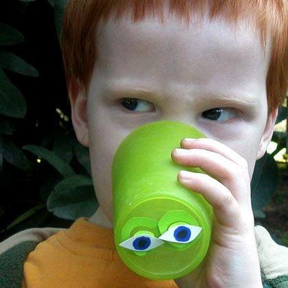 Make a Peek-A-Boo Cup