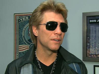 Jon Bon Jovi 'Ecstatic' Over 2013 Golden Globe Nomination