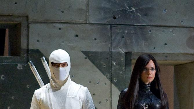 G.I. Joe: The Rise of Cobra Production Stills Paramount 2009 Byung-hun Lee Sienna Miller