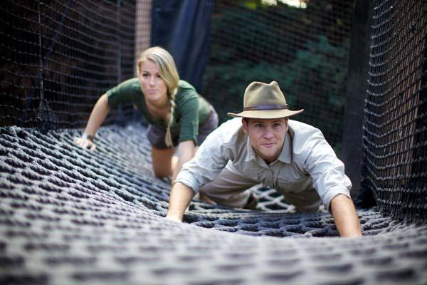 Indiana Jones Engagement Photos