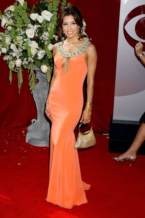 Eva Longoria at The 57th Annual Primetime Emmy Awards.