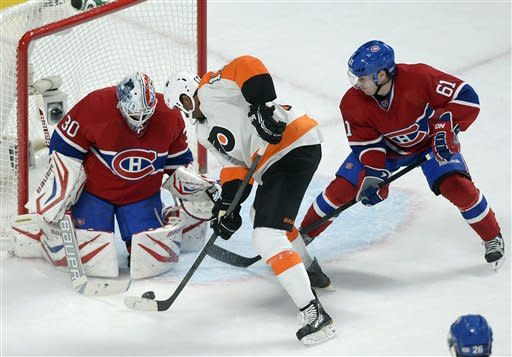 Canadiens top Flyers 4-1 for 3rd straight win
