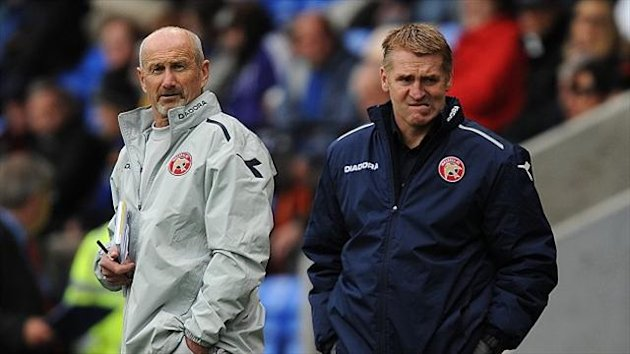Richard O'Kelly and Dean Smith have formed a good partnership at Walsall