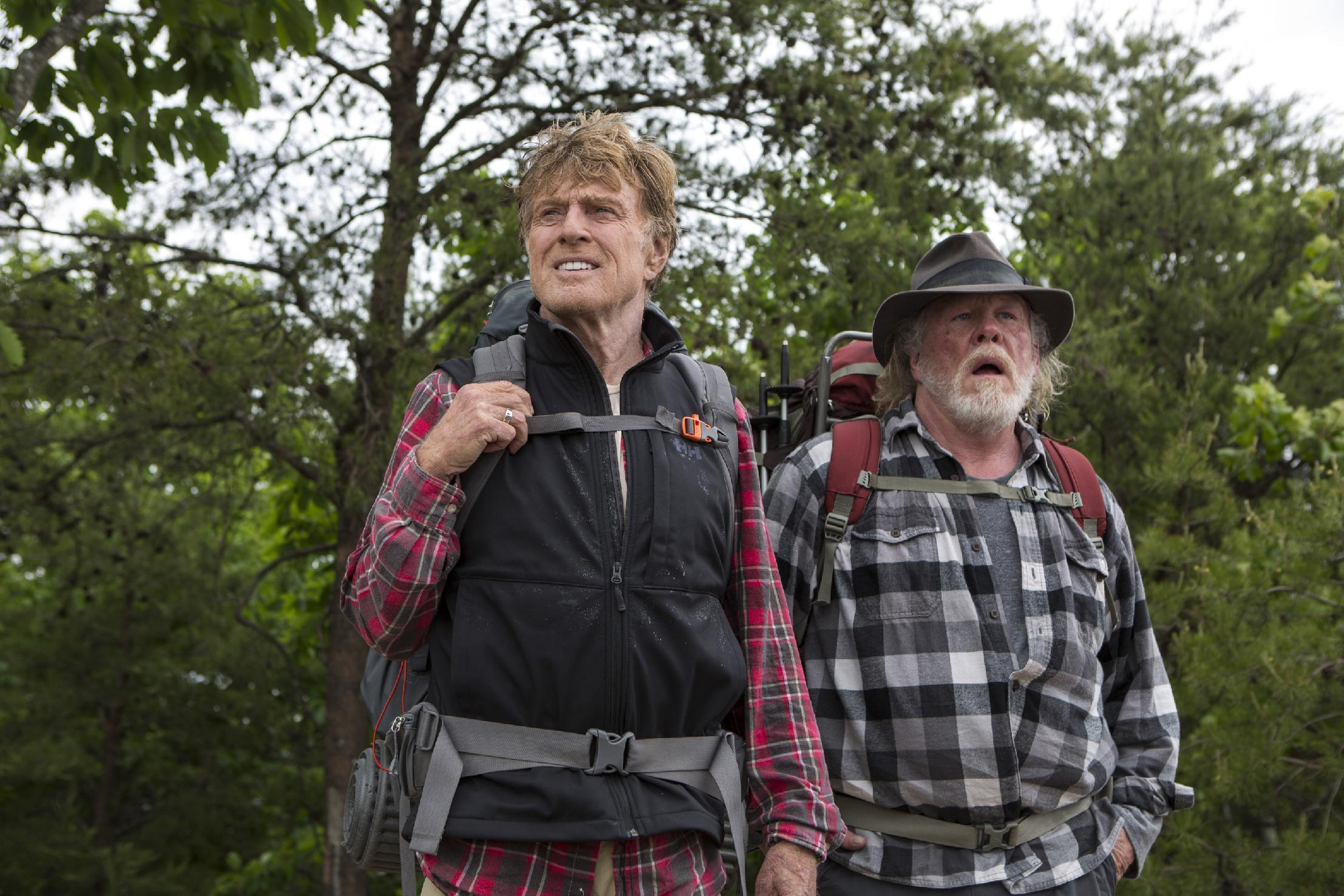 Review: Redford and Nolte in Bryson's 'A Walk in the Woods'