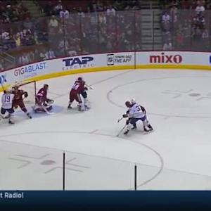Mike Smith Save on Andrej Meszaros (08:18/1st)
