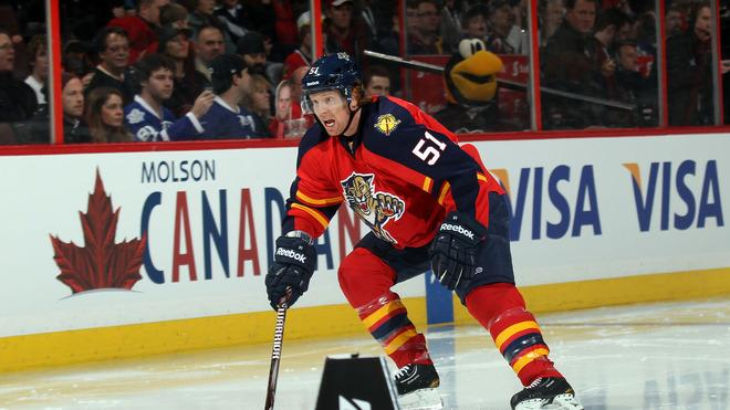Brian Campbell #51 Of The Florida Panthers And Team Chara Skates Getty Images