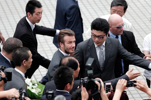 David Beckham Visits China - Day 3