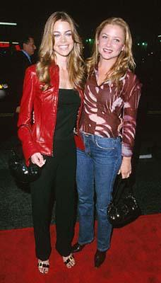 Premiere: Denise Richards and Jessica Capshaw at the Mann's Chinese Theater premiere of Columbia's Charlie's Angels - 10/22/2000
