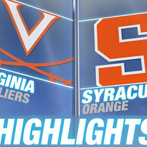 Virginia vs Syracuse | 2015 ACC Men's Lacrosse Highlights