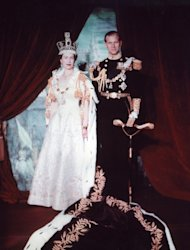 Queen Elizabeth II and Prince Philip, Duke of Edinburgh, in 1953.