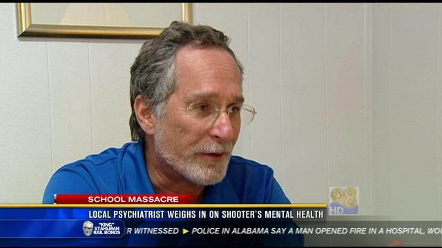 Local psychiatrist weighs in on shooter's mental health