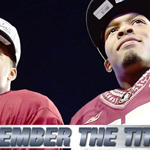 "Jameis Winston & P.J. Williams Play Out Scene From ""Remember the Titans"""