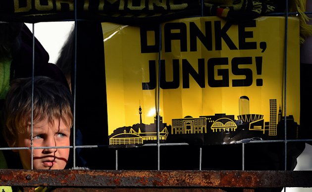 A Fan Of German Soccer Champions AFP/Getty Images