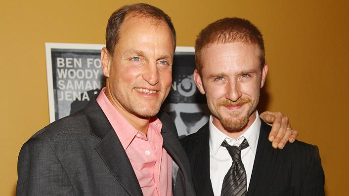 The Messenger NY premiere 2009 Woody Harrelson Ben Foster
