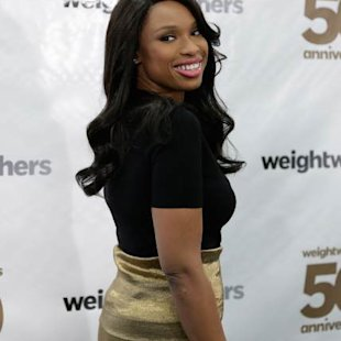 Jennifer Hudson attends Weight Watchers Founder Celebration Day at the Weight Watchers Center NYC on March 25, 2013 in New York City -- Getty Premium