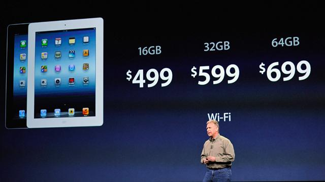 Apple Said to Plan a 128GB 4G iPad