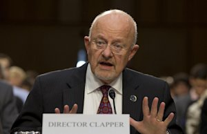 Director of National Intelligence James Clapper …