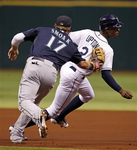 Vargas takes shutout into 7th, Mariners beat Rays