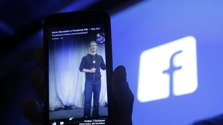 Mobile ads help grow Facebook's 1Q revenue 38 pct.