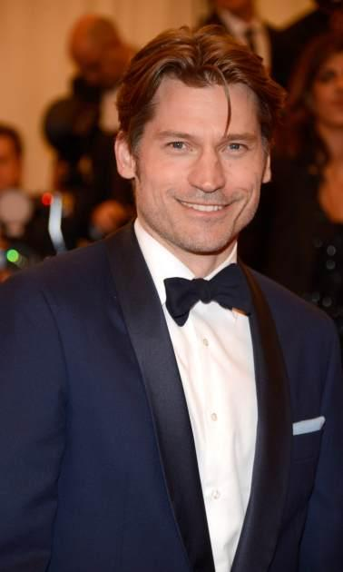 Nikolaj Coster-Waldau attends the Costume Institute Gala for the 'PUNK: Chaos to Couture' exhibition at the Metropolitan Museum of Art, New York City, on May 6, 2013 -- Getty Images