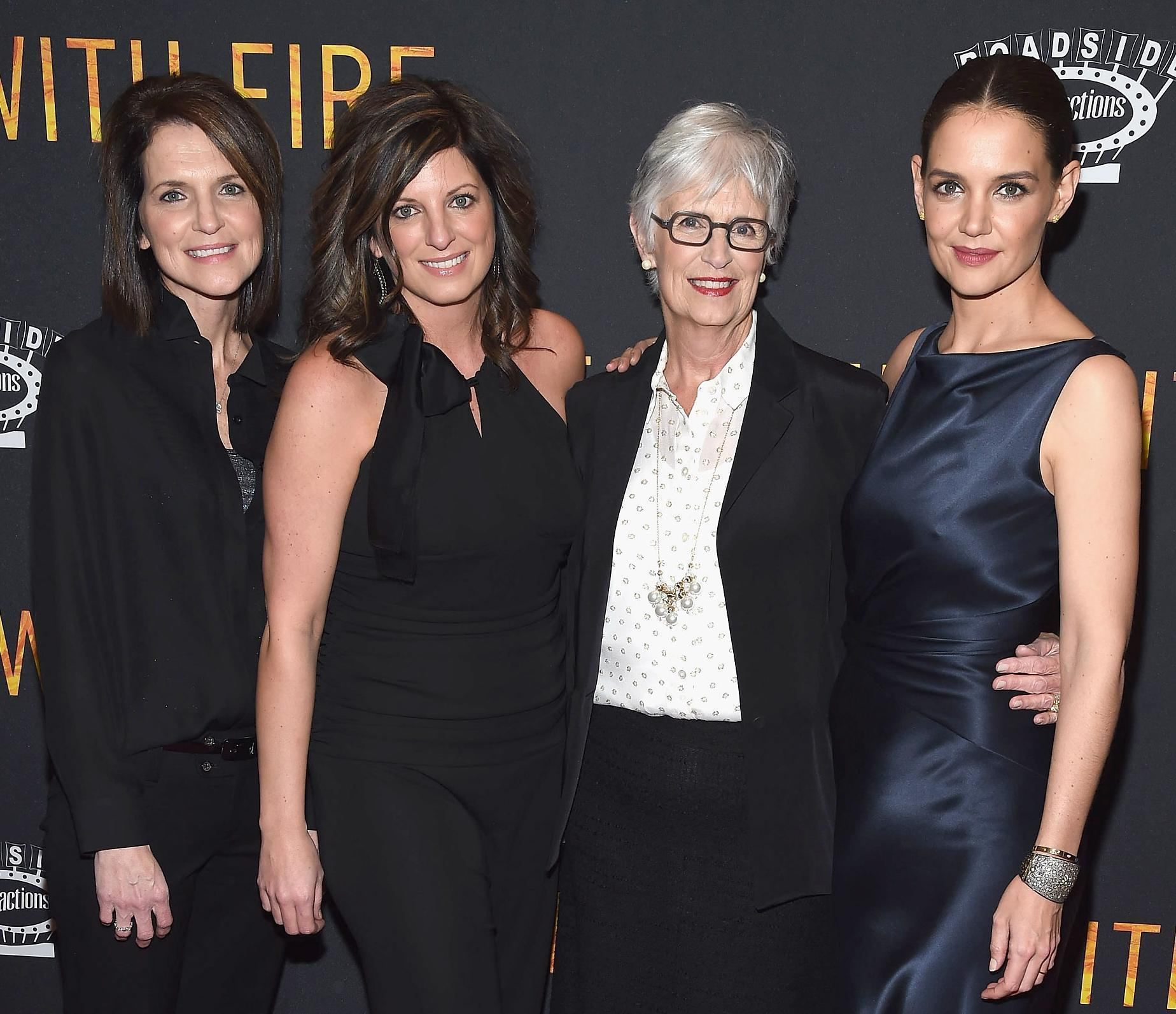 Katie Holmes Has 3 Dates for 'Touched With Fire' Premiere: Her Mom and Sisters