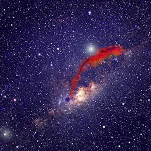 Doomed Space Cloud Hints at Planet Formation in Milky Way's Core
