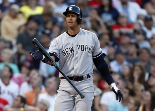 Alex Rodriguez hit .244 in 44 games with the Yankees last season. (AP)