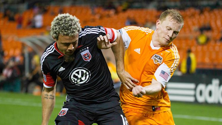 MLS: Houston Dynamo at D.C. United