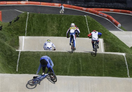 London Olympics BMX Cycling Men