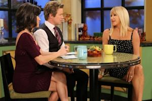 Suzanne Somers chats with Billy Bush and Kit Hoover on Access Hollywood Live on October 21, 2010 -- Access Hollywood