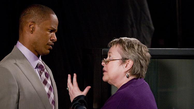 Valentine's Day Production Photos 2010 New Line Cinema Jamie Foxx Kathy Bates