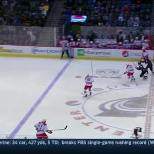 Jarome Iginla Hit on Jiri Tlusty (03:05/1st)