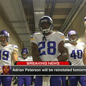 What happens next for Adrian Peterson?
